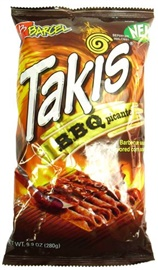 Picture of Takis BBQ Picante 9.88 oz (Pack of 3)- Item No.757528-009779