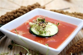 Picture of Gaspacho - Guiltless Gazpacho Soup Recipe - Item No. 76-guiltlessgazpacho