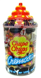 Picture of Chupa Chups Flavored Creamy Lollipops (40.63 oz) 96 pieces- Item No.76350-61326