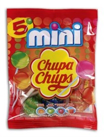 Picture of Chupa Chups Mini Lollipops (5 count bags) 12 units - Item No. 76350-61546