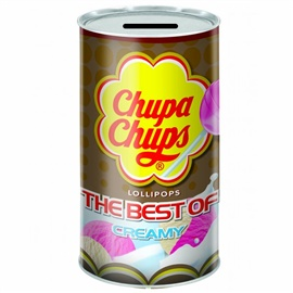 Picture of The Best of Chupa Chups Lollipops (tin coin bank) 20 Pieces - Item No. 76350-61553