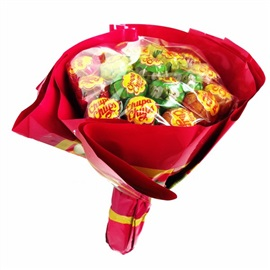 Picture of Chupa Chups Bouquet Fruit Flavor Lollipops 19 Pieces - Item No. 76350-61556