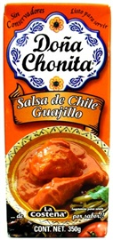 Picture of Dona Chonita Salsa Guajillo Pepper 12.3 oz (Pack of 3) - Item No. 76397-00785