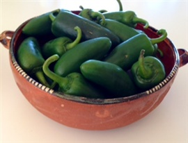 Picture of Fresh Chile Jalapeno Peppers- Item No.77745-31075