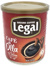 Picture of Caf� Legal Ground Coffee Blend with Caramelized Sugar and Cinnamon 11 oz - Item No. 78883-11156