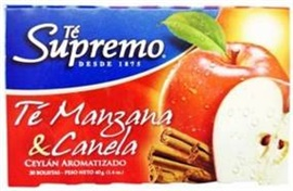 Picture of Supremo Te de Manzana y Canela 0.7 oz - Item No. 80746-11134