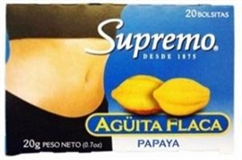 Picture of Supremo Te Aguita Flaca papaya 0.7 oz - Item No. 80746-11141