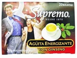 Picture of Supremo Te Aguita Energizante 0.7 oz - Item No. 80746-11147