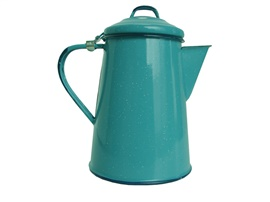 Picture of Enamel Coffee Pot - Cafetera Peltre by Cinsa 1.6 quarts - Item No. 82013-01885