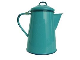 Picture of Enamel Coffee Pot - Cafetera Peltre by Cinsa 1.6 quarts- Item No.82013-01885
