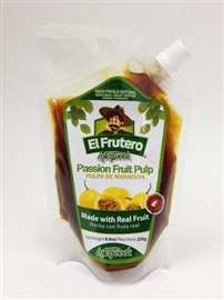 Picture of El Frutero Passion Fruit Pulp 8.8 oz - Item No. 84672-70021