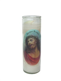 Picture of The Divine Face of Jesus Christ Candle (Pack of 6) - Item No. 8540