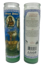 Picture of 7 Day Siete Potencia Candle - Veladora (Pack of 6) - Item No. 8582