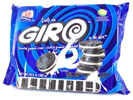Picture of Gamesa Giro Chocolate Sandwich Cookies - Item No. 86700-00767