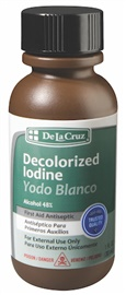 Picture of Yodo Blanco - Decolorized Iodine 1 OZ - Item No. 87335