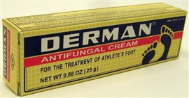 Picture of Derman Antifungal Cream for Athlete's Foot  1.76 oz - Item No. 88152