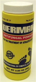 Picture of Derman Antifungal Powder for Athlete's Foot 2.82 oz - Item No. 88153