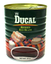 Picture of Ducal Refried Red Beans 29 oz - Item No. 88313-26202