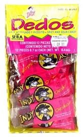 Picture of Indy Dedos Dulce Acidulado y Picosito (8.4 oz) 12 pieces- Item No.90203-02353