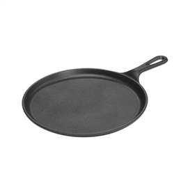 "Picture of Comal - Cast Iron Griddle by LODGE - Comal de Fierro Redondo 10.5 "" - Item No. 9115-w"