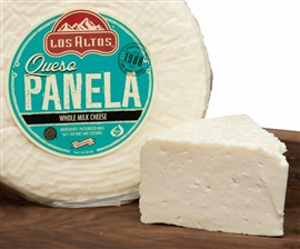 Picture of Queso Panela Los Altos (Semi Soft - Whole Milk Cheese) 3 LB Random- Item No.91155-12405