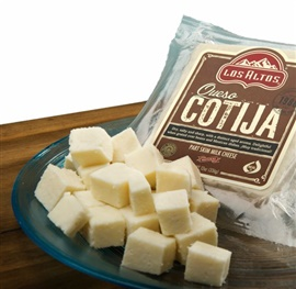 Picture of Queso Cotija Los Altos Aged Cheese - Item No. 91155-13351