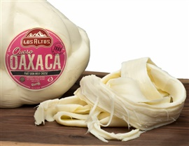 Picture of Queso Oaxaca en Bola Los Altos (String Mozzarella Cheese Wheel) 3 LB Random - Item No. 91155-13801