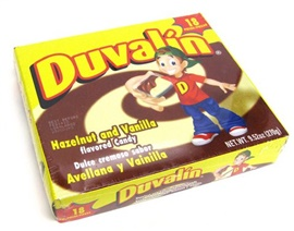 Picture of Duvalin Hazelnut Vanilla Candy Creams 18 pieces - Item No. 9215