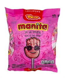 Picture of Vero Manita Candy 40 pieces - Item No. 9219