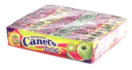 Picture of Canel's Assorted Fruity Gum Candy 10.58 oz.- Item No.9221-fruity