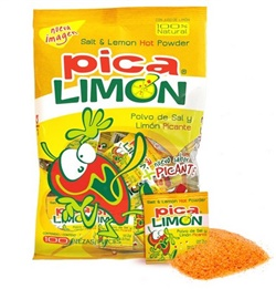 Picture of Pica Limon - Lemon and Chili Powder Packets - 100 pieces - 7 oz - Item No. 9228