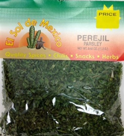 Picture of Parsley Perejil by El Sol de Mexico - Item No. 9603