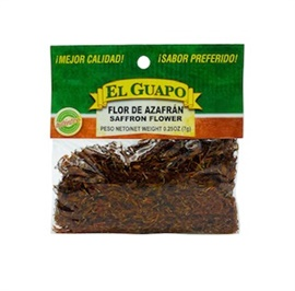 Picture of Azafran en Flor - Safflower by El Sol de Mexico .40 oz - Item No. 9618