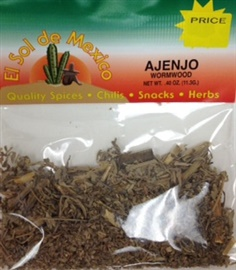 Picture of Ajenjo Herbs - Wormwood by El Sol de Mexico .40 oz - Item No. 9622