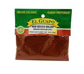 Picture of New Mexico Chili Powder by El Sol de Mexico .80 oz- Item No.9632