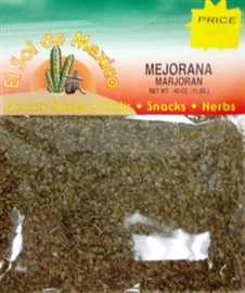 Picture of Mejorana- Marjoran Herb by El Sol de Mexico .40 oz - Item No. 9633