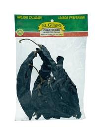 Picture of Chile Negro Dried Chile Pepper by El Sol de Mexico 2 oz.- Item No.9652