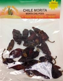 Picture of Chile Morita Dried Chile Pepper by El sol de Mexico 2 oz.- Item No.9653