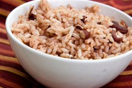 Picture of Authentic Caribbean Rice and Beans Recipe - Item No. 98-caribbean-rice-and-beans