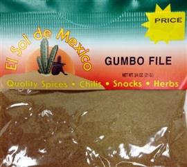 Picture of Gumbo File by El Sol de Mexico 3/4 oz.- Item No.9816