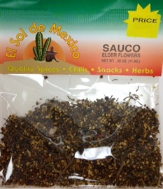 Picture of Sauco - Elder Flowers by El Sol de Mexico .40 oz- Item No.9820