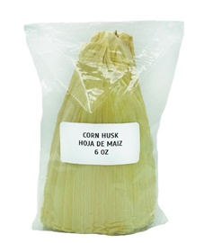 Picture of Corn Husks Shells No. 1 for Tamales 6 oz - Hojas para Tamal - Item No. 9831