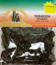 Picture of Spearmint - Yerba Buena by El Sol de Mexico .40 oz - Item No. 9836