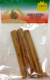 Picture of Whole Cinnamon - Canela Entera by El Sol de Mexico - Item No. 9837