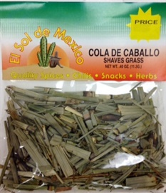 Picture of Cola de Caballo Herb Tea - Shaves Grass by El Sol de Mexico .40 oz. - Item No. 9841