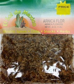 Picture of Arnica Herb Tea by El Sol de Mexico .40 oz. - Item No. 9843