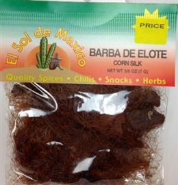 Picture of Barba de Elote Herb Tea by El Sol de Mexico 3/8 oz- Item No.9844