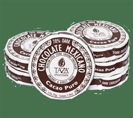 Picture of Taza Cacao Puro Chocolate Mexicano 2.7 oz - Item No. 98456-00139