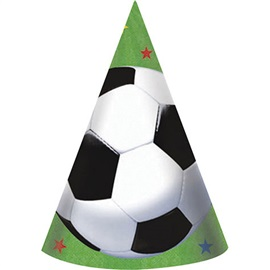 """Picture of Soccer Fan Hats 7"""" 8 count- Item No.ams-259709"""