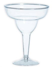 Picture of Margarita Glass Clear Plastic 11 oz - Item No. ams-350102-86